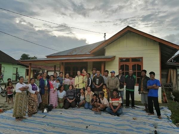 Kunjungan ke Penduduk Desa Terdampak Operasional HTI, Sumatera Utara